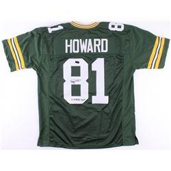 "Desmond Howard Signed Packers Jersey Inscribed ""SB XXXI MVP"" (Radtke COA)"