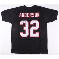 Jamal Anderson Signed Falcons Jersey (JSA COA)