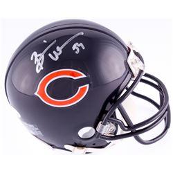 Brian Urlacher Signed Bears Mini-Helmet (JSA COA)
