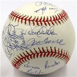New York Yankees 1998 World Series Limited Edition Baseball Team-Signed by (17) with Joe Torre, Tim