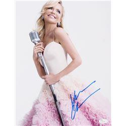 Kristin Chenoweth Signed 11x14 Photo (JSA COA)