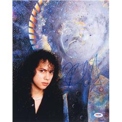 Kirk Hammett Signed 11x14 Photo (PSA COA)
