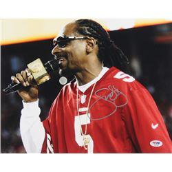 Snoop Dogg Signed 11x14 Photo (PSA COA)