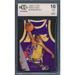 1996-97 Ultra Fresh Faces #3 Kobe Bryant RC (BCCG 10)