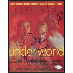 Darren Emerson  Karl Hyde Signed 1999 PULSE! Magazine (JSA COA)