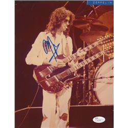 Jimmy Page Signed 8x10.25 Photo (JSA LOA)