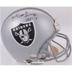 "Tim Brown Signed LE Raiders Full-Size Authentic On-Field Helmet Inscribed ""Heisman '87""  ""HOF '15"" ("