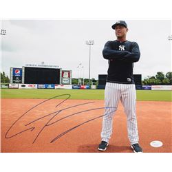 Gleyber Torres Signed Yankees 11x14 Photo (JSA COA)