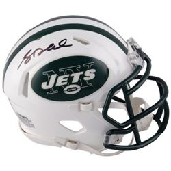 Sam Darnold Signed Jets Mini Helmet (Fanatics Hologram)