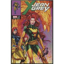 "Stan Lee Signed 2017 ""X-Men: Jean Grey"" Issue #1 Variant Edition Marvel Comic Book (Lee COA)"