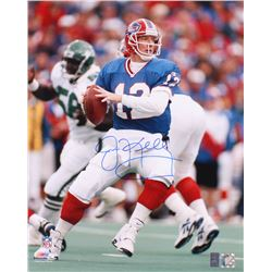 Jim Kelly Signed Bills 16x20 Photo (Radtke COA  Kelly Hologram)