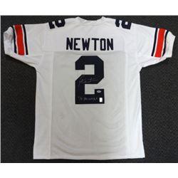 "Cam Newton Signed Auburn Tigers Jersey Inscribed ""'10 Heisman"" (PSA COA  Newton Hologram)"