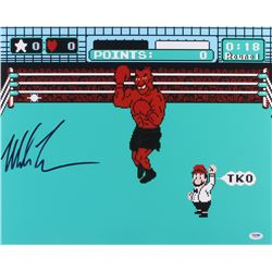 """Mike Tyson Signed """"Mike Tyson's Punch-Out!!"""" 16x20 Photo (PSA COA)"""