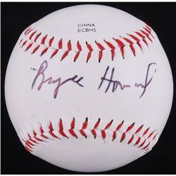 Bryce Dallas Howard Signed OL Baseball (JSA COA)