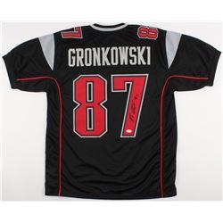 Rob Gronkowski Signed Patriots Jersey (JSA COA)