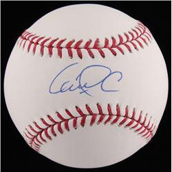 Carlos Correa Signed OML Baseball (TriStar COA)