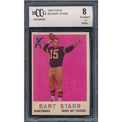 1959 Topps #23 Bart Starr (BCCG 8)