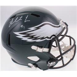 Fletcher Cox Signed Eagles Full-Size Speed Helmet (Fanatics Hologram)