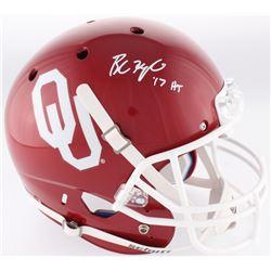 "Baker Mayfield Signed Oklahoma Sooners Full-Size Helmet Inscribed ""17 HT"" (Beckett COA)"