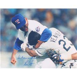 "Nolan Ryan Signed Rangers 16x20 Photo Inscribed ""Don't Mess With Texas!"" (AI Verified COA  Ryan Holo"
