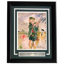 "Leroy Neiman ""Old Duffer"" 16x20 Custom Framed Print Display"