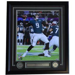 Nick Foles Eagles 16x20 Custom Framed Photo Display