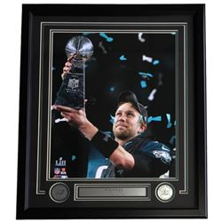 Nick Foles Eagles 22x27 Custom Framed Photo Display