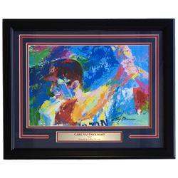 "Leroy Neiman ""Yaz"" 18x22 Custom Framed Print Display"