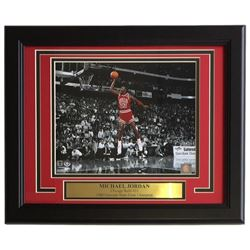 Michael Jordan Bulls 11x14 Custom Framed Photo Display