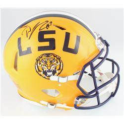 DJ Chark Signed LSU Tigers Full-Size Authentic On-Field Speed Helmet (Radtke COA  Chark Hologram)
