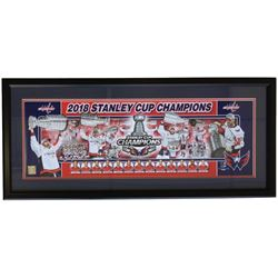 2018 Capitals Stanley Cup Champions 12x35 Custom Framed Photo Display