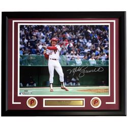 Mike Schmidt Signed Phillies 22x27 Custom Framed Photo Display (Fanatics  MLB Hologram)