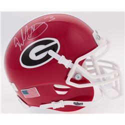 Todd Gurley Signed Georgia Bulldogs Mini Helmet (Radtke COA)