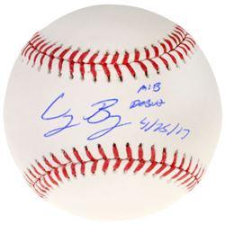 "Cody Bellinger Signed OML Baseball Inscribed ""MLB Debut 4/25/17"" (MLB  Fanatics COA)"