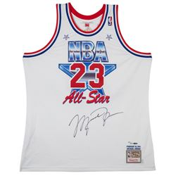 Michael Jordan Signed Limited Edition 1991 NBA All-Star Authentic Jersey (UDA COA)