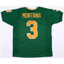 Joe Montana Signed Notre Dame Fighting Irish Jersey (JSA COA  Montana Hologram)