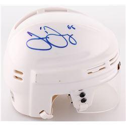 Jaromir Jagr Signed Penguins Mini Helmet (JSA COA)