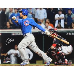Willson Contreras Signed Cubs 16x20 Photo (Schwartz Sports COA)