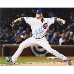Jon Lester Signed Cubs 16x20 Photo (Schwartz Sports COA)