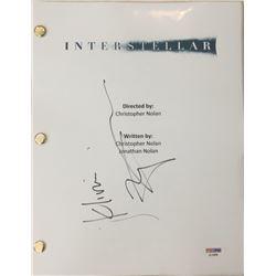 "Matthew McConaughey Signed ""Interstellar"" Movie Full Script (PSA COA)"