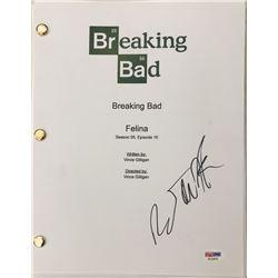 """RJ Mitte Signed """"Breaking Bad"""" Episode Full Script (PSA COA)"""