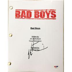 "Martin Lawrence Signed ""Bad Boys"" Movie Full Script (PSA COA)"
