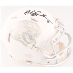 Mark Brunell Signed Jaguars Custom Matte White ICE Mini Speed Helmet (Radtke COA)