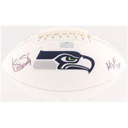 "Kenny Easley Signed Seahawks Logo Football Inscribed ""HOF '17"" (Radtke Hologram)"