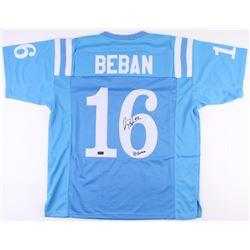 "Gary Beban Signed UCLA Bruins Jersey Inscribed ""67 Heisman"" (Radtke COA)"