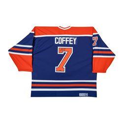 Paul Coffey Signed Authentic Oilers Jersey (UDA COA)