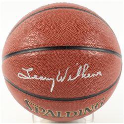 Lenny Wilkens Signed Basketball (Schwartz COA)