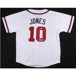 Chipper Jones Signed Braves Jersey (PSA COA)