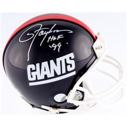 "Lawrence Taylor Signed Giants  Mini-Helmet Inscribed ""HOF 99"" (JSA COA)"