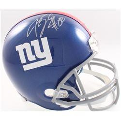 Jeremy Shockey Signed Giants Full-Size Helmet (JSA COA  Denver Autographs COA)